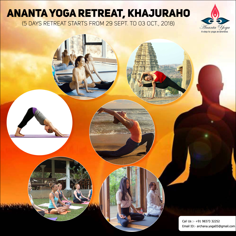 yoga and meditation retreat in khajuraho