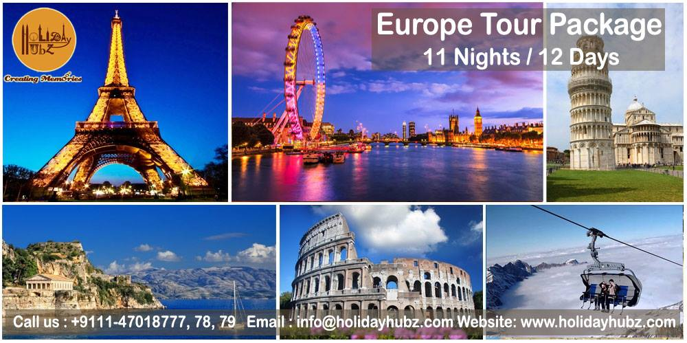 holiday hubz europe tour package
