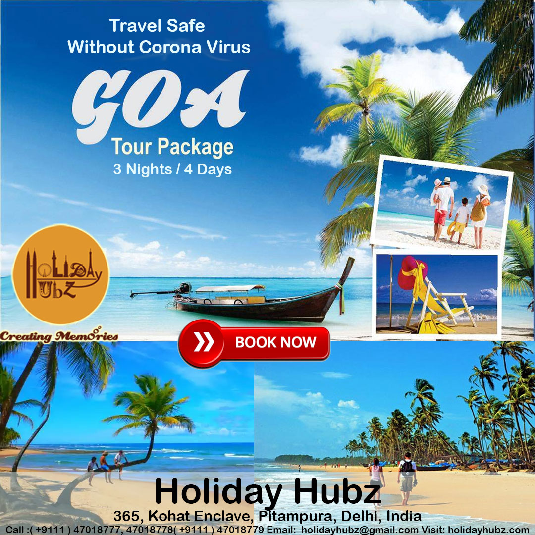 holiday hubz goa tour package