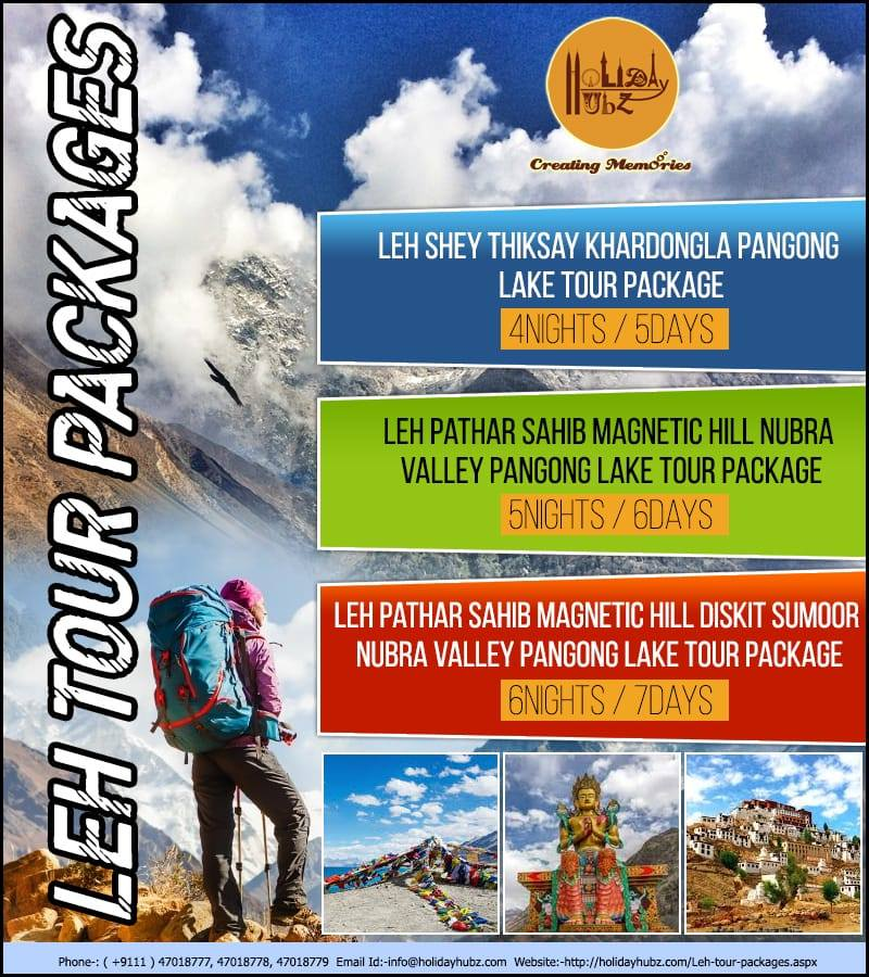 holiday hubz leh tour package