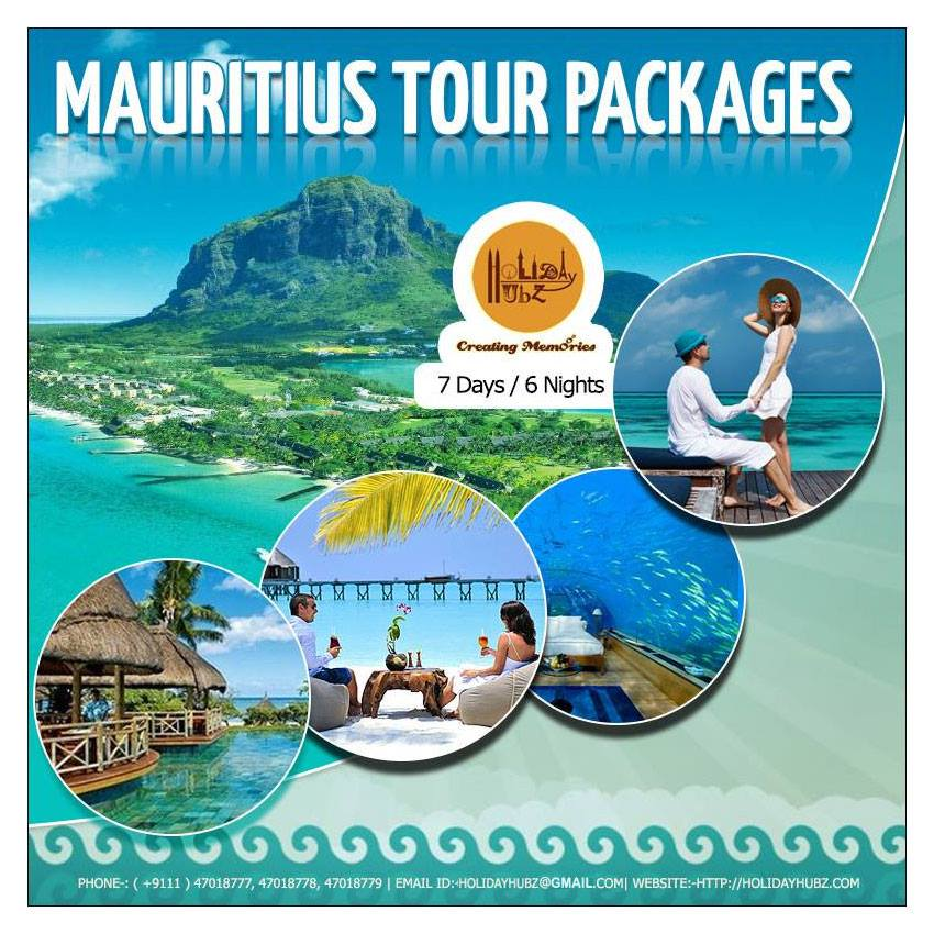 holiday hubz mauritius tour package