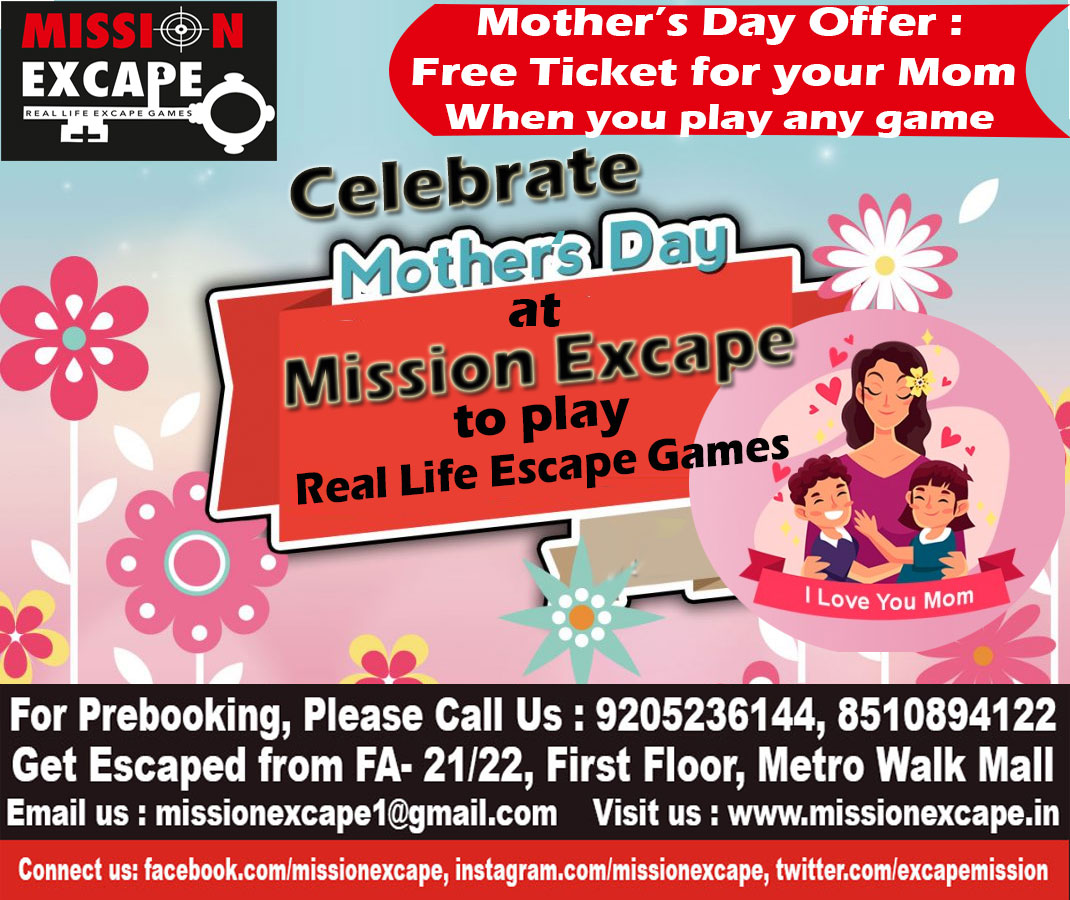 mission excape summer mothers day offer