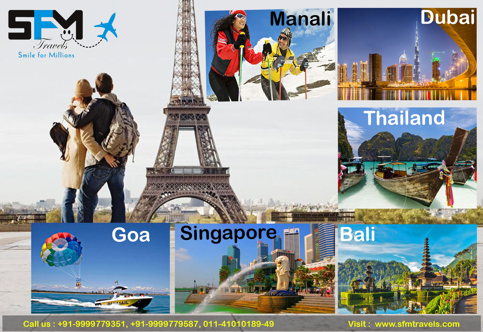sfm travels tour package